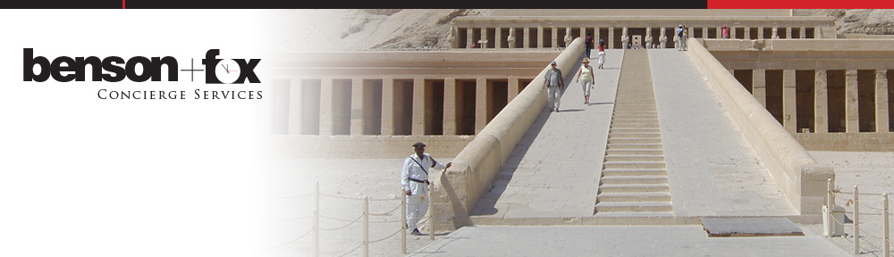 Concierge Services Sydney - Temple of Hatshepsut